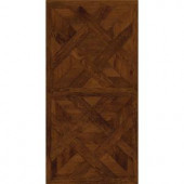 TrafficMASTER Allure 16 in. x 32 in. Chateau Parquet Dark Vinyl Flooring (21.3 sq. ft./case)