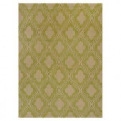 Kas Rugs Chateau Lime/Beige 3 ft. 3 in. x 5 ft. 3 in. Area Rug