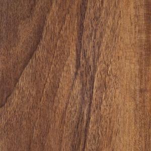 Hampton Bay Hand Scraped Walnut Plateau 8mm Thick x 5-9/16 in. Wide x 47-3/4 in. Length Laminate Flooring (18.45 sq. ft./case)