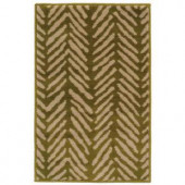 Oriental Weavers Camille Sable Green 1 ft. 10 in. x 2 ft. 10 in. Scatter Area Rug