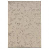 iCustomRug Grace Ivory 4 ft. 2 in. x 6 ft. Area Rug