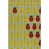 Momeni Caprice Collection Lady Bug 2 ft. x 3 ft. Area Rug