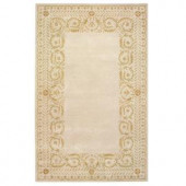 Home Decorators Collection Napoli Ivory/Taupe 2 ft. x 3 ft. Area Rug