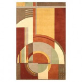 Kas Rugs Deco First Rust 9 ft. 3 in. x 13 ft. 3 in. Area Rug