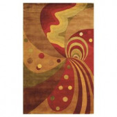 Kas Rugs Point of Escape Jeweltone 2 ft. x 3 ft. Area Rug