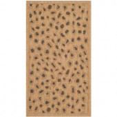Safavieh Courtyard Natural/Gold 2.6 ft. x 5 ft. Area Rug