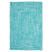 Colonial Mills Catalina Aquatic 4 ft. x 6 ft. Braided Accent Rug
