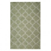 Home Decorators Collection Morocco Sage 3 ft. 6 in. x 5 ft. 6 in. Area Rug