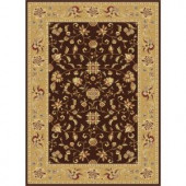 Tayse Rugs Century Brown 11 ft. 3 in. x 15 ft. Traditional Area Rug