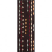 Artistic Weavers Downey Chocolate 2 ft. 6 in. x 8 ft. Runner