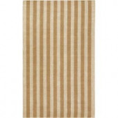 Surya Country Living Tan 3 ft. 6 in. x 5 ft. 6 in. Area Rug