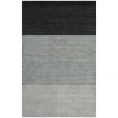 BASHIAN Contempo Collection Blue Ombre Blue 2 ft. 6 in. x 8 ft. Area Rug
