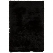 Chandra Mercury Black 5 ft. x 7 ft. 6 in. Indoor Area Rug