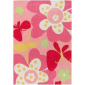 Artistic Weavers Derry Pink 4 ft. 10 in. x 7 ft. Area Rug