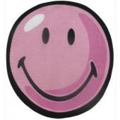 LA Rug Inc. Smiley Pink 39 in. Round Area Rug