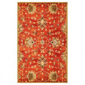 Kas Rugs Touch of Agra Sienna 3 ft. 3 in. x 5 ft. 3 in. Area Rug