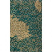 Home Decorators Collection Savannah Green 2 ft. 3 in. x 3 ft. 9 in. Area Rug