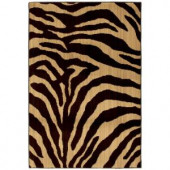 Home Decorators Collection Ababa Dark Brown 3 ft. 4 in. x 5 ft. Area Rug
