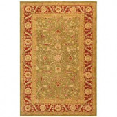 Safavieh Anatolia Green and Red 5 ft. x 8 ft. Area Rug