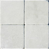 MS International Crema Marfil 4 in. x 4 in. Beige Tumbled Marble Floor and Wall Tile