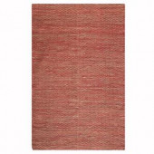 Home Decorators Collection Zigzag Red 3 ft. x 5 ft. Area Rug