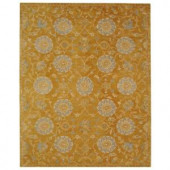 Safavieh Anatolia Gold and Blue 9 ft. 6 in. x 13 ft. 6 in. Area Rug