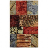 Appalachian Moments Multi 2 ft. 6 in. x 3 ft. 10 in. Area Rug
