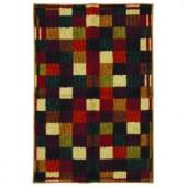 Mohawk Vibrant Checkerboard Multi 2 ft. 6 in. x 3 ft. 10 in. Area Rug