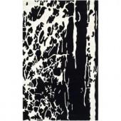 Safavieh Soho Black/White 3.5 ft. x 5.5 ft. Area Rug