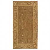 Safavieh Courtyard Brown/Natural 2.6 ft. x 5 ft. Area Rug