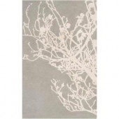 Surya Candice Olson Pigeon Gray 2 ft. x 3 ft. Accent Rug