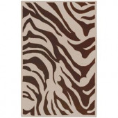 Artistic Weavers Laconia Chocolate 3 ft. 3 in. x 5 ft. 3 in. Area Rug