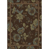 Shaw Living Ming Brown 5 ft. 3 in. x 7 ft. 10 in. Area Rug