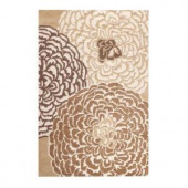 Home Decorators Collection Amity White/Beige/Taupe 2 ft. 6 in. x 4 ft. 6 in. Accent Rug