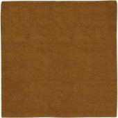Beech Brown 8 ft. Square Area Rug