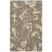 Mohawk Forte Taupe/Flesh/Ivory Beige 2 ft. 6 in. x 3 ft. 10 in. Area Rug