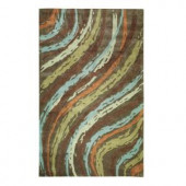 Home Decorators Collection Breaker Brown 2 ft. 6 in. x 4 ft. 6 in. Area Rug