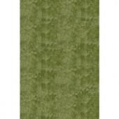 Momeni Luster Shag Apple Green 2 ft. x 3 ft. Area Rug