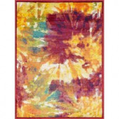 Loloi Rugs Lyon Lifestyle Collection Firework 3 ft. 9 in. x 5 ft. 2 in. Area Rug