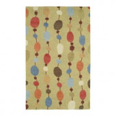 Kaleen Casual Persimmon Maize 7 ft. 6 in. x 9 ft. Area Rug