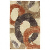 Mohawk Home Pigment Butter Cup 3 ft. 4 in. x 5 ft. 6 in. Area Rug