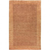 LR Resources Loom Seridian Rust 2 ft. 5 in. x 7 ft. 9 in. Plush Indoor Runner