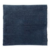 Home Decorators Collection Royale Chenille Blue 8 ft. Square Area Rug