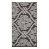 Shaw Living Belosa Brown 1 ft. 7.5 in. x 3 ft. Kitchen Scatter Rug