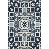Chandra Parson Blue 5 ft. x 7 ft. 6 in. Indoor Area Rug