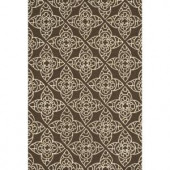 Loloi Rugs Summerton Life Style Collection Brown Ivory 5 ft. x 7 ft. 6 in. Area Rug