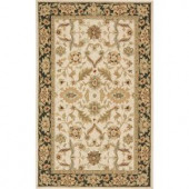 Momeni Terrace Traditions Ivory 2 ft. x 3 ft. All-Weather Patio Accent Rug