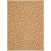 Safavieh Courtyard Natural/Gold 5.3 ft. x 7.6 ft. Area Rug