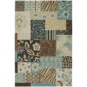 Kaleen Home & Porch Frederica Robin's Egg 3 ft. x 5 ft. Area Rug