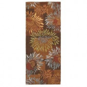 Home Decorators Collection Dazzle Brown 2 ft. 6 in. x 10 ft. Runner
